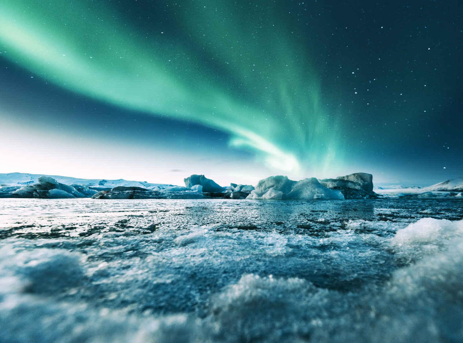 Exploration en terre glaciale