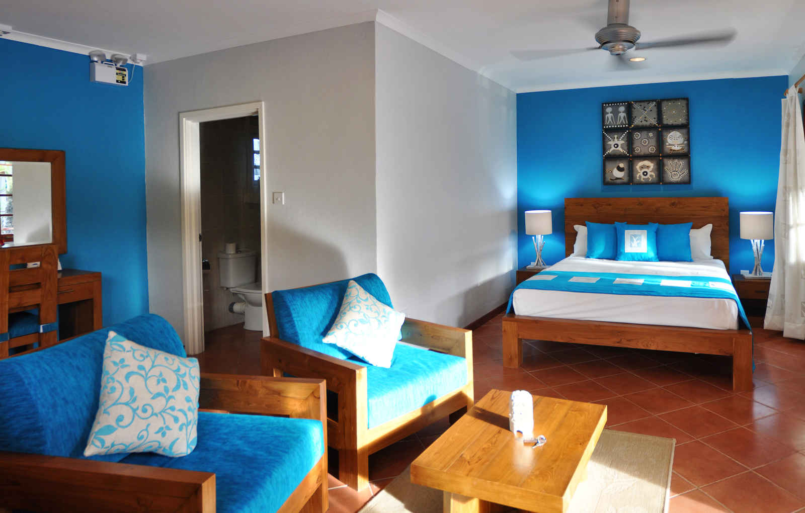 Seychelles - Hôtel Villas de Mer 2*