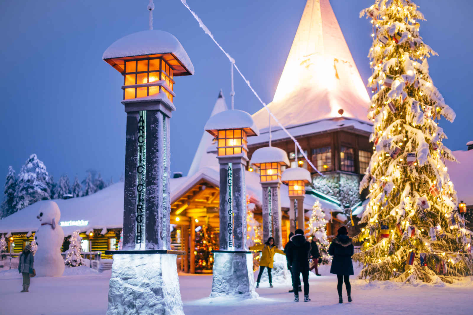 Noël aux Chalets du Village du Père Noël - départ du 22 décembre