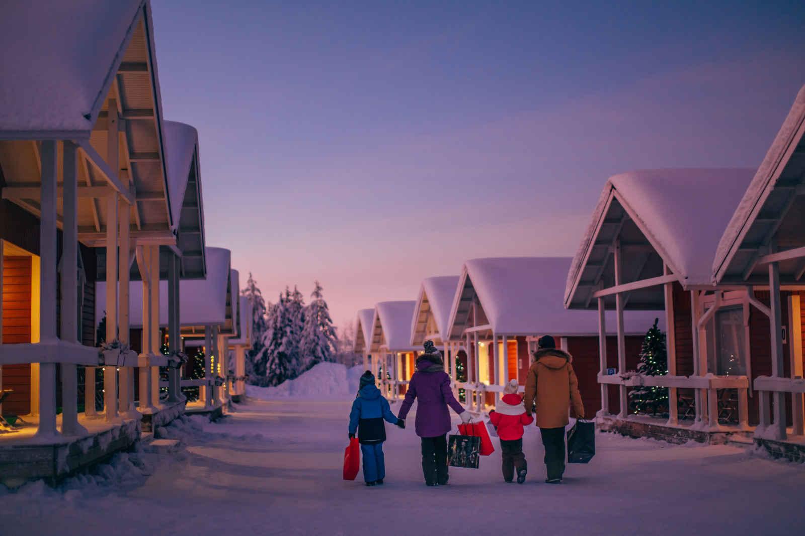 Les chalets du Village du Père Noël 5 jours / 4 nuits