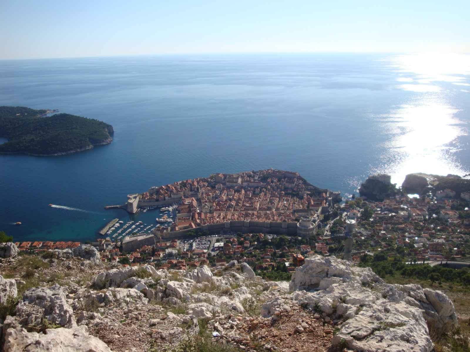 Panorama de l'Adriatique