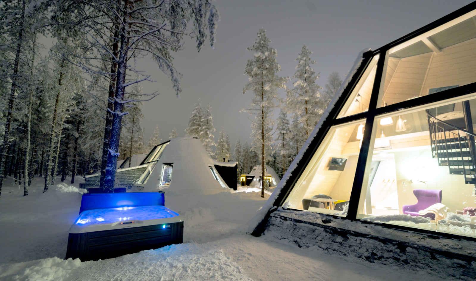 Finlande - Laponie - Rovaniemi - Les Chalets du Glass Resort
