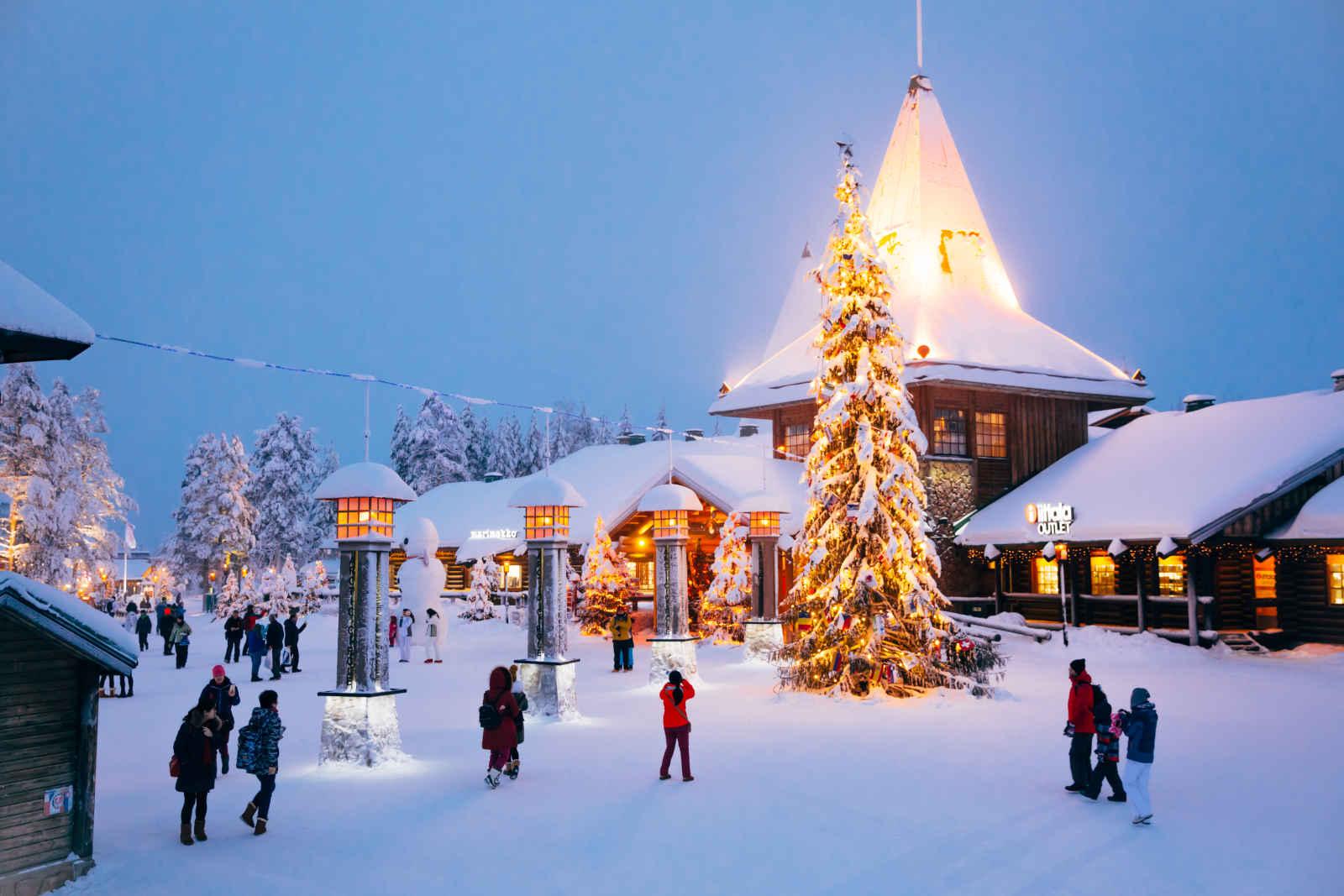 Nouvel An au Ounasvaara Chalets - départ du 29 décembre