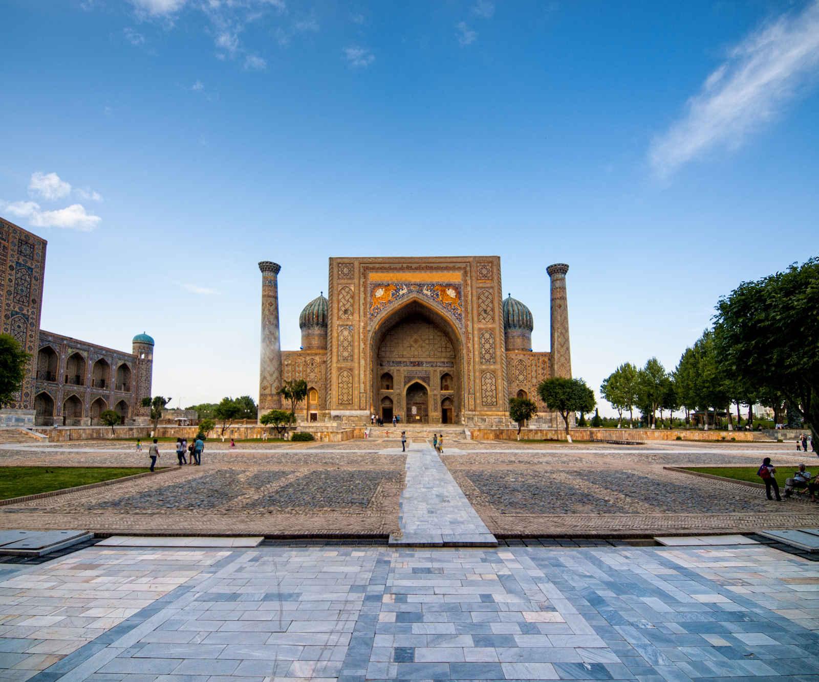Mythiques cités ouzbeks