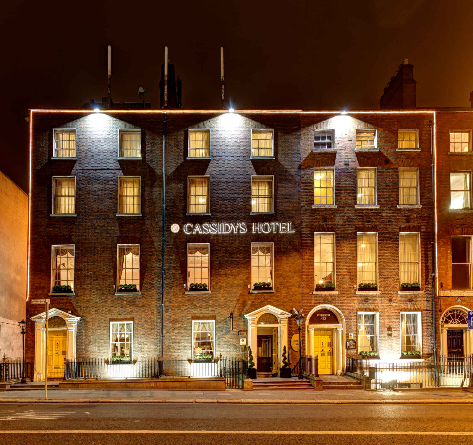 Irlande - Dublin - Cassidys Hôtel