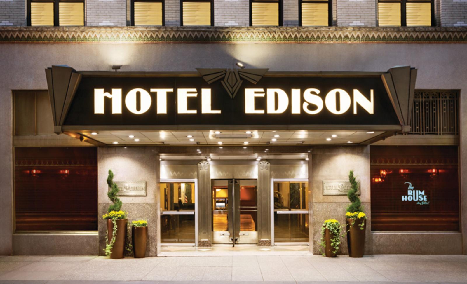 Edison Hôtel 4 *