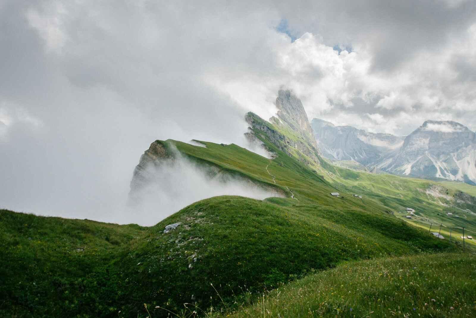 Italie - Autotour Montagna Luminosa