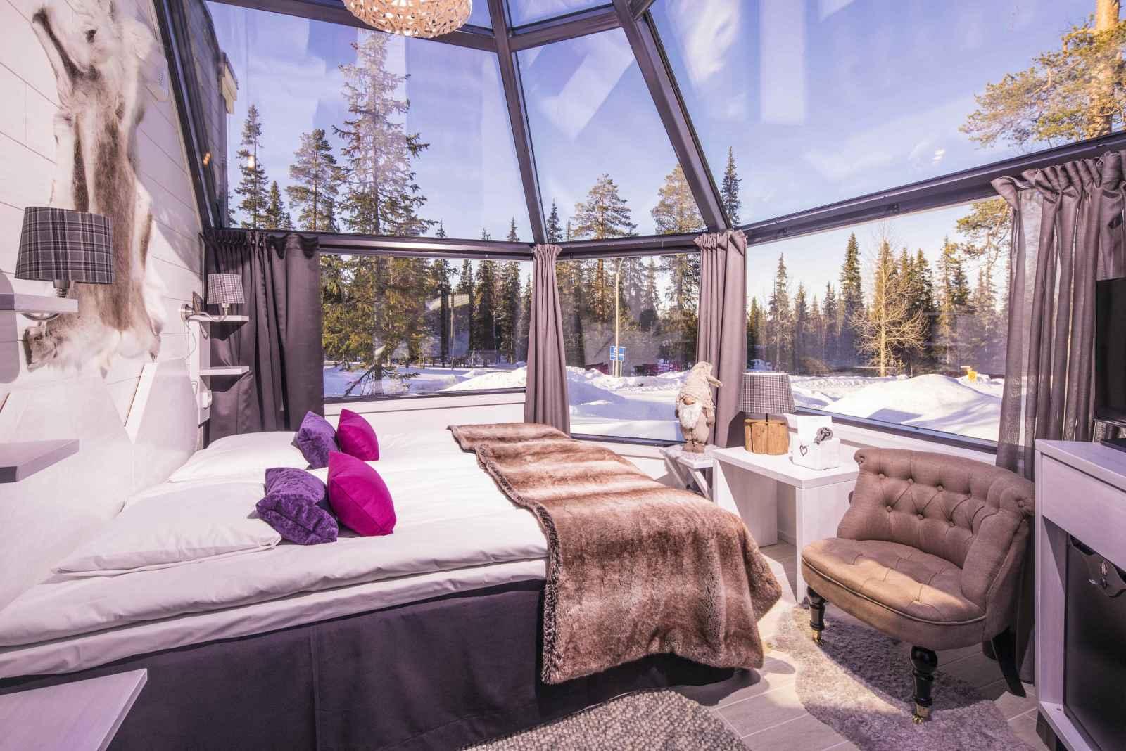 Finlande - Laponie - Rovaniemi - Santa's Hôtel Aurora