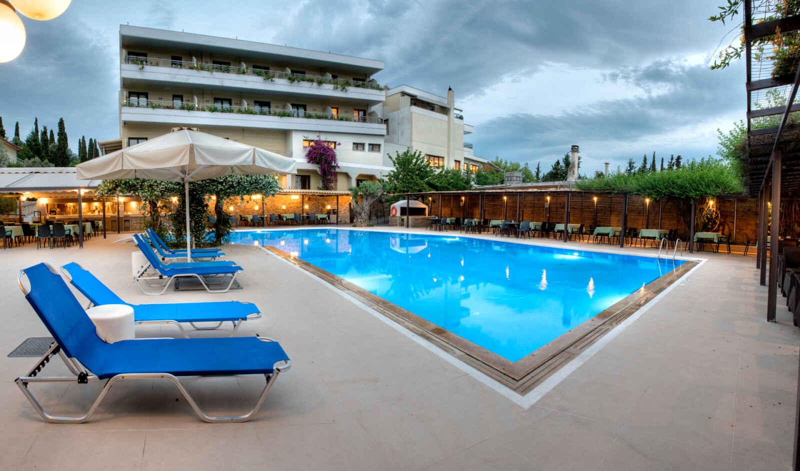 Séjour Athènes - Miramare Hotel Eretria - 4*