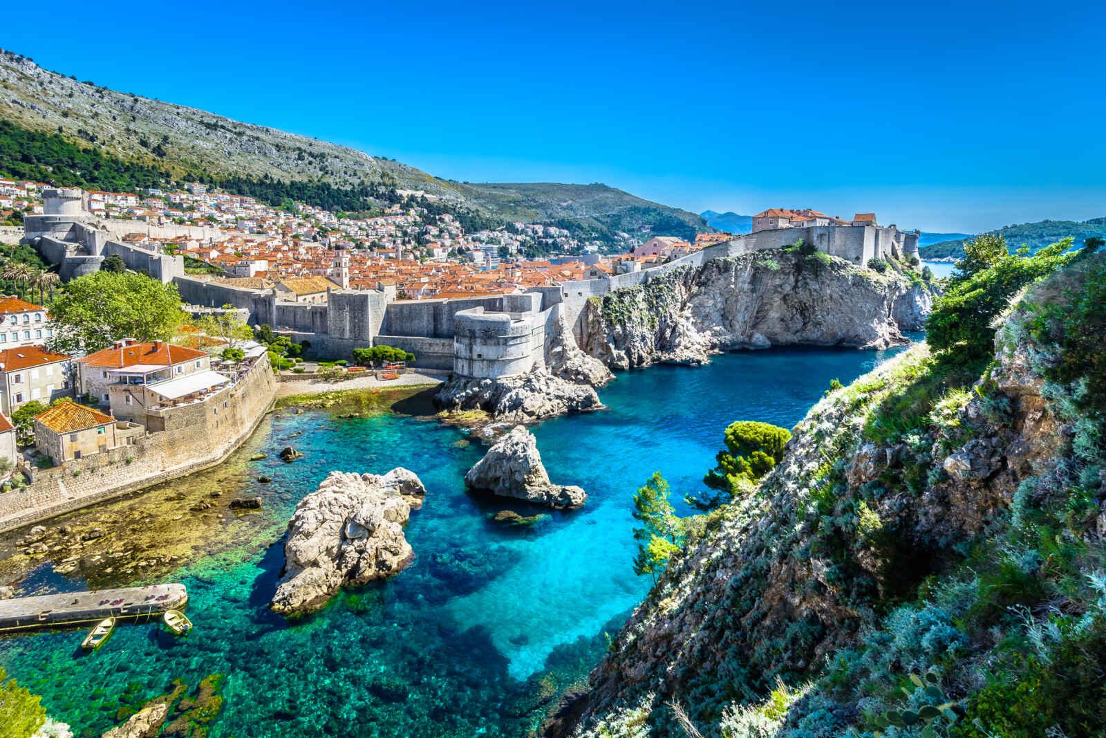 Dubrovnik, perle de l'Adriatique