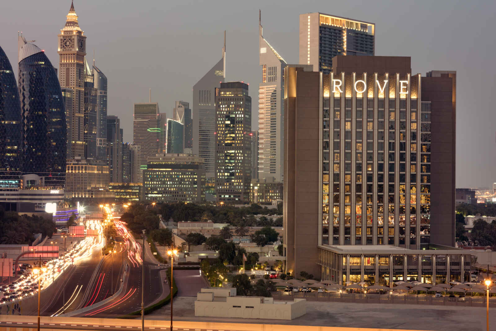rove downtown dubai - 3*