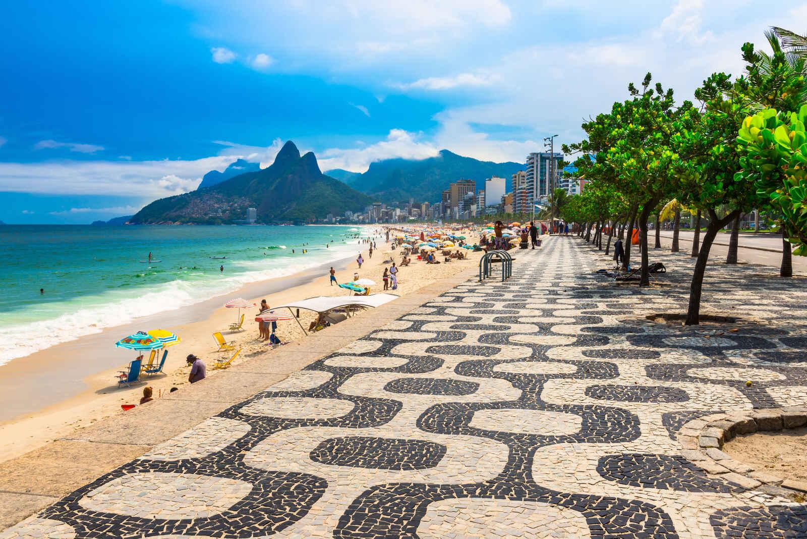 Argentine - Brésil - Circuit Couleur Brésil