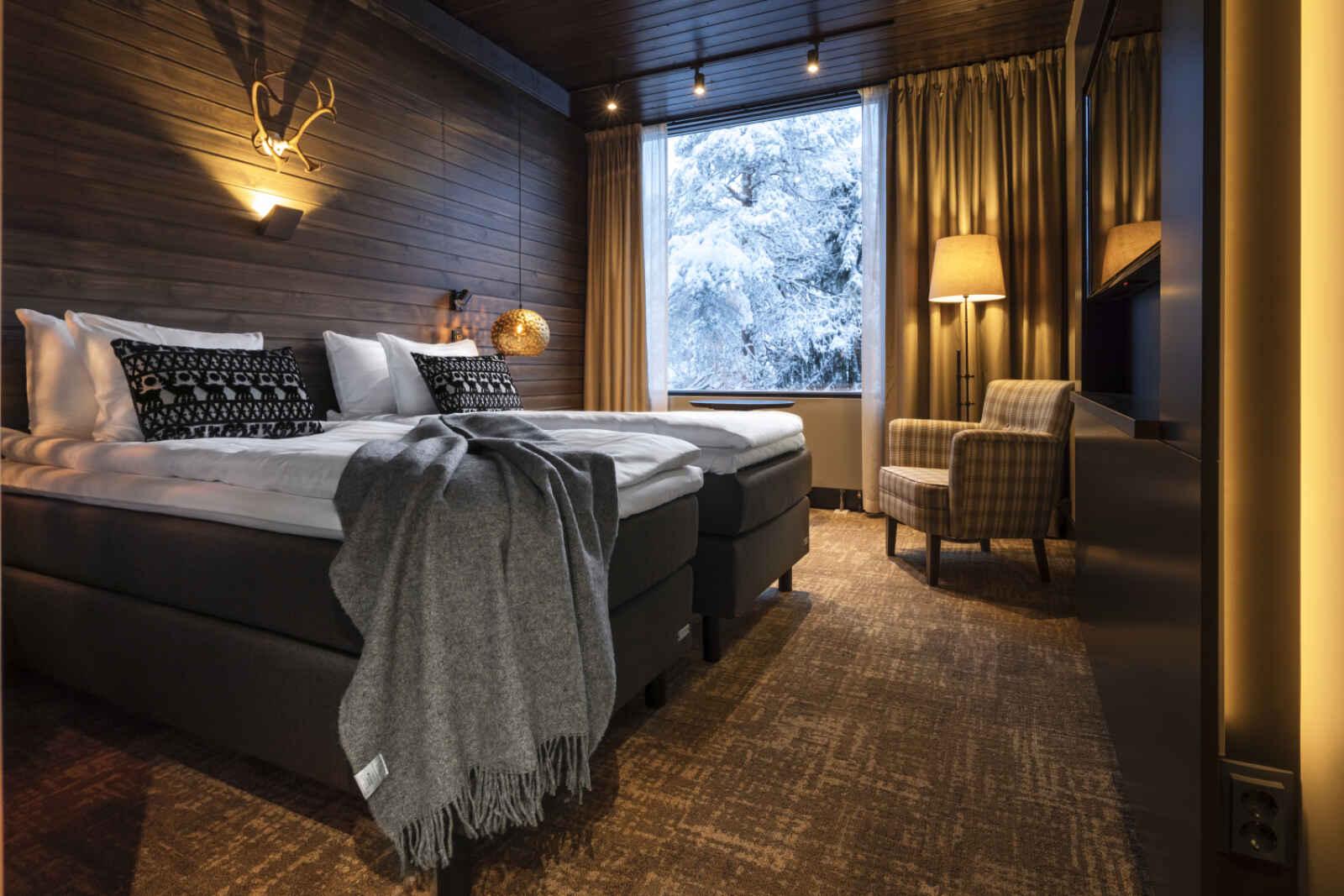 Finlande - Laponie - Rovaniemi - Hôtel Sky Ounasvaara