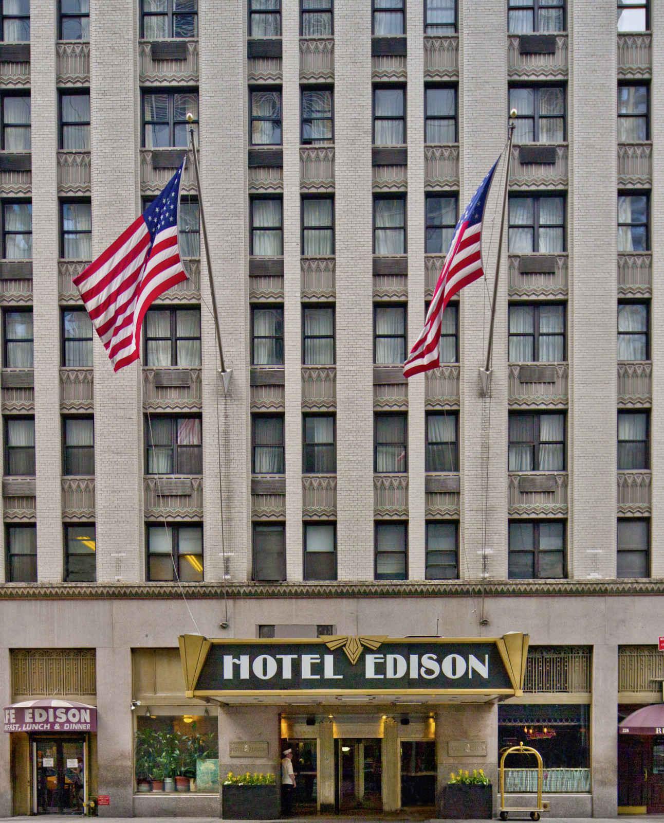 Voyage Amérique du Nord - Edison Hôtel