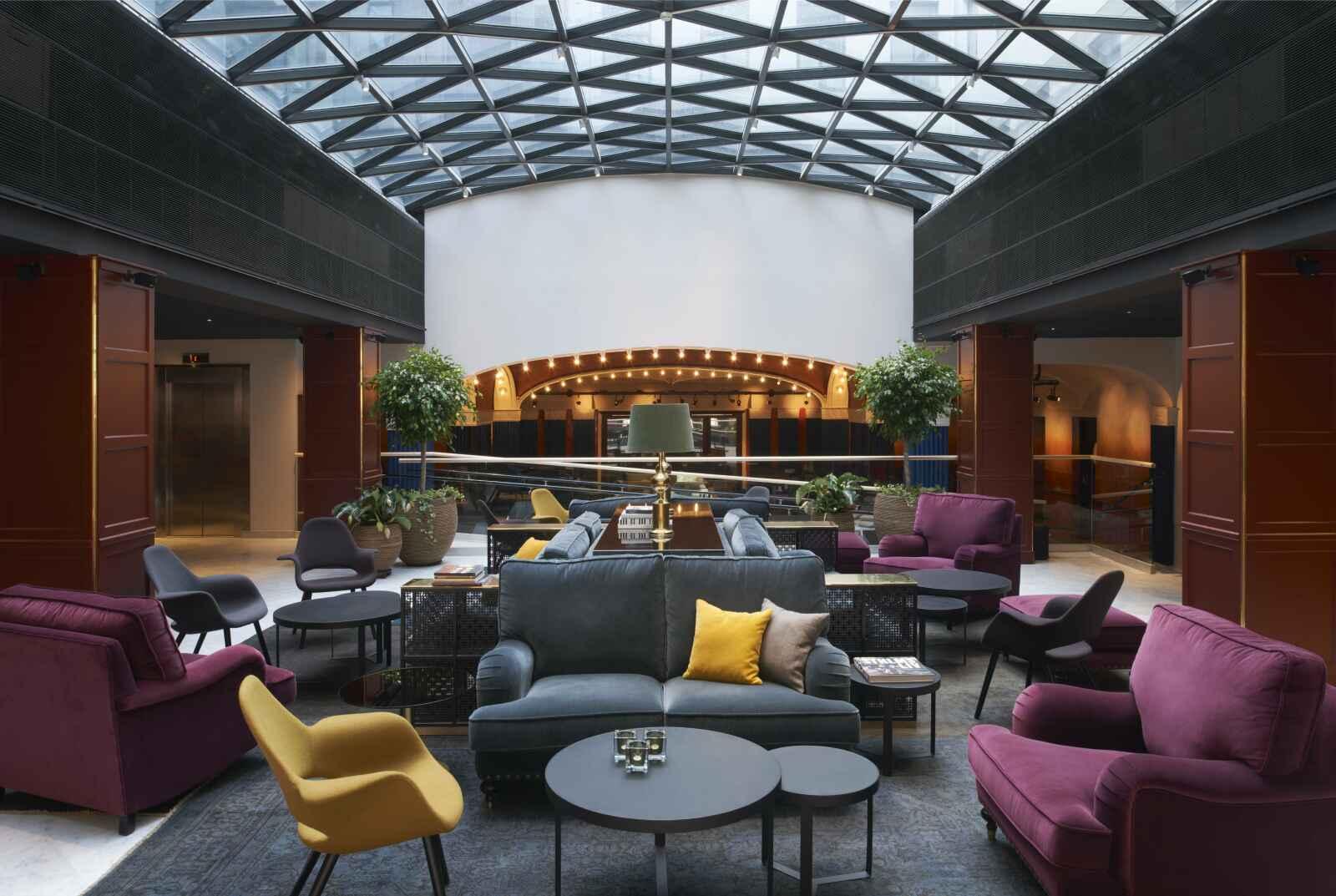 Suède - Stockholm - Hôtel Scandic Grand Central