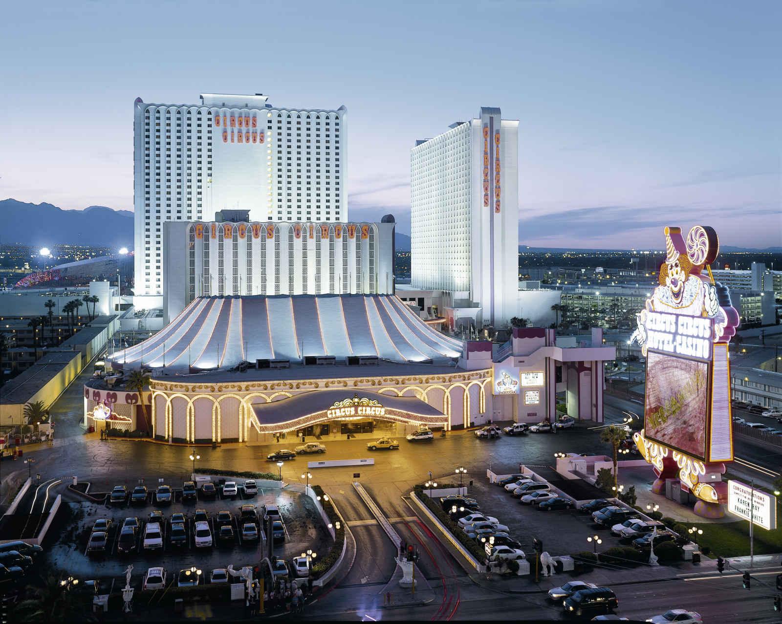 Voyage Amérique du Nord - Circus Circus Hotel, Casino & Theme Park