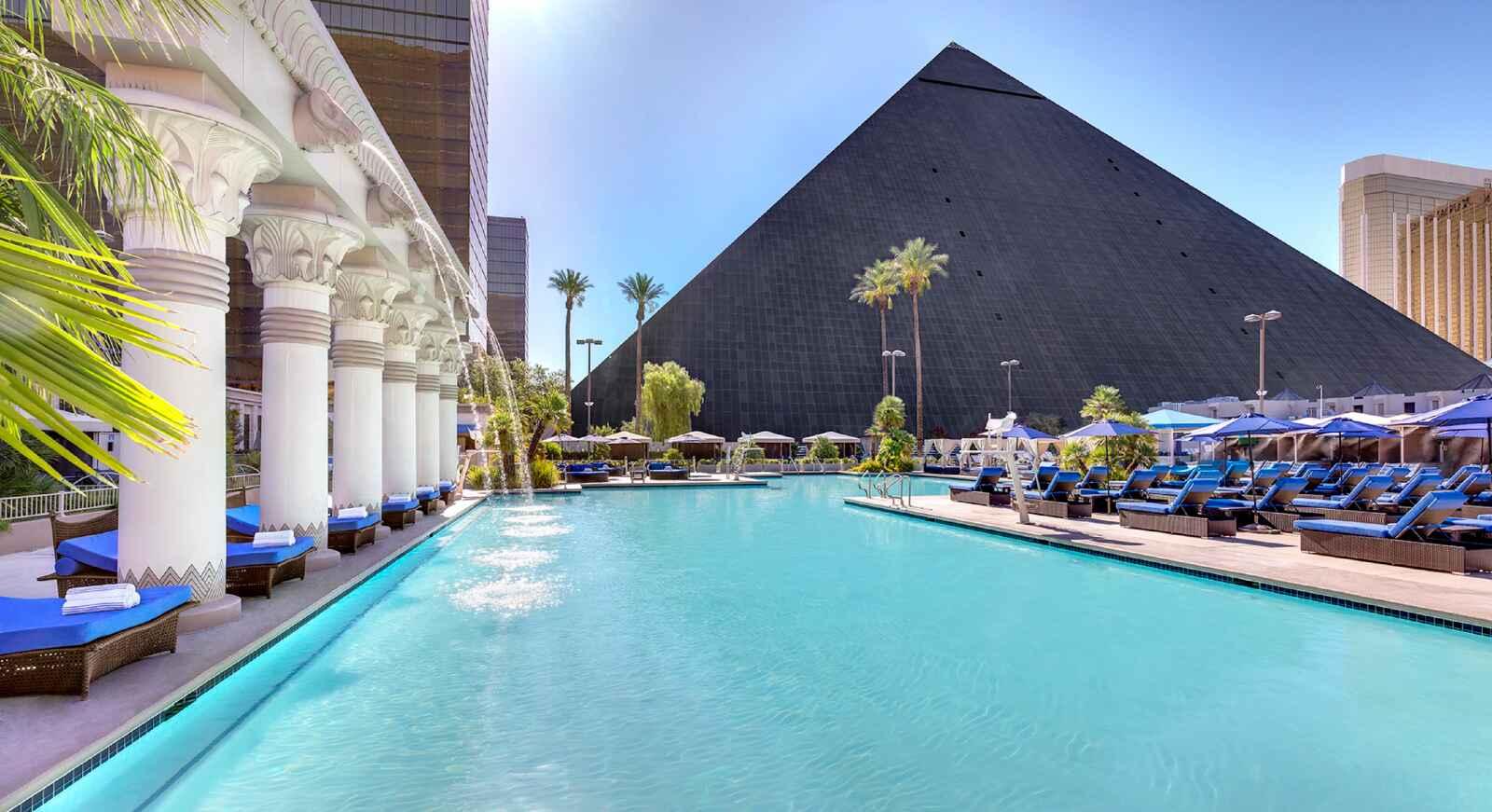Voyage Amérique du Nord - Luxor Hotel & Casino